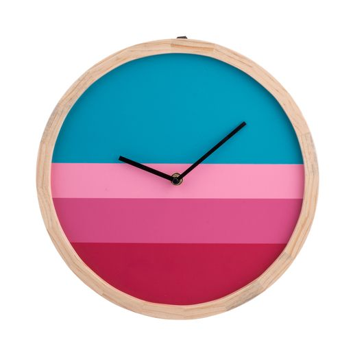 Horloge haute en couleurs - La Foir'Fouille en 2020 | Horloge, Horloge murale, Roses bleues