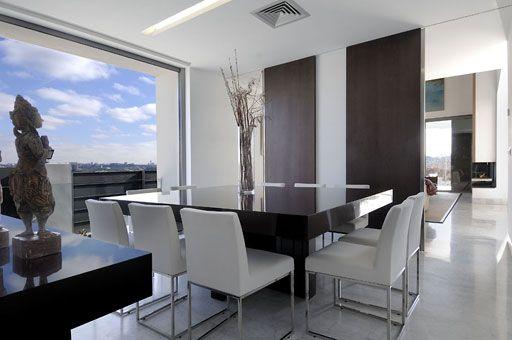 Comedores espectaculares comedores de lujo comedores for Comedor minimalista