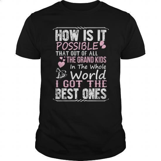 Grandkids Grandma - #tshirt #funny shirt. GET YOURS => https://www.sunfrog.com/Faith/Grandkids-Grandma-142221118-Black-Guys.html?60505