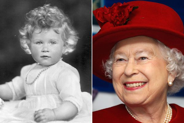 Royal Baby Photo Gallery Queen Elizabeth II  She was a beautiful baby!