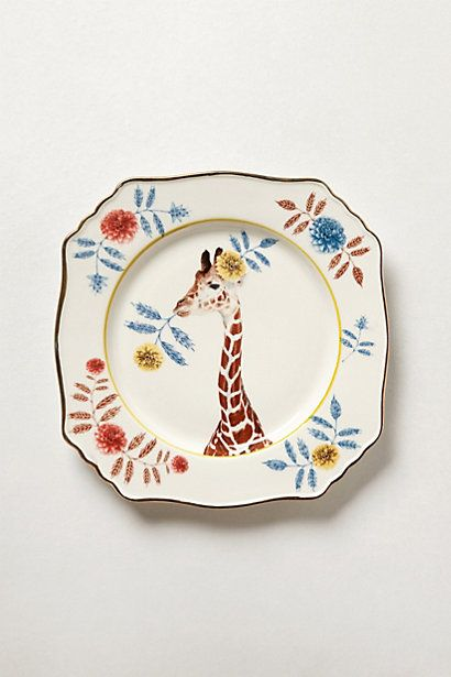 Anthropologie EU Nature Table Dessert Plate