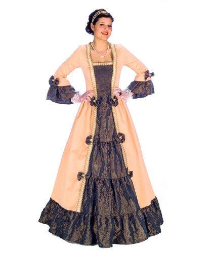 Платье придворной дамы: платье (Германия)