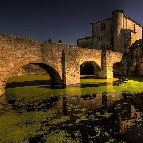 Castle at Aigues Mortes, France