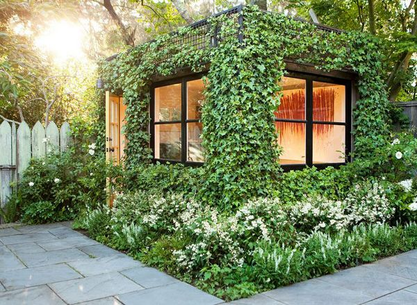 As a guesthouse, garden shed or sauna, a shipping container can serve as a beautiful extension of your home sweet home. #containerhome #shippingcontainer