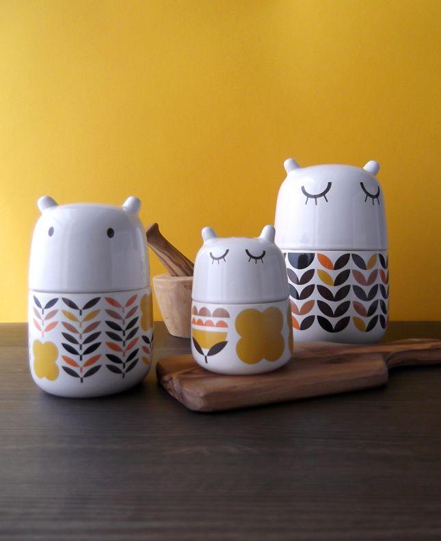 3 Fall creatures. #camilaprada #cute #ceramic