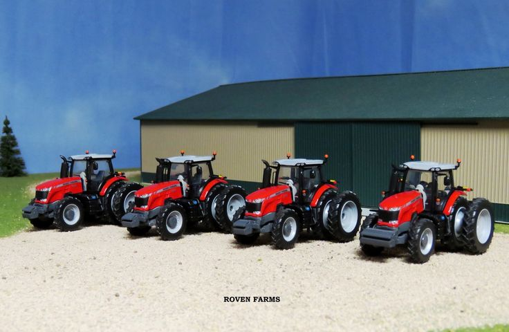Roven Farms- New Tractors For The Farm | Customs & Display Journals ® | Toy Talk | The Toy Tractor Times Online Magazine