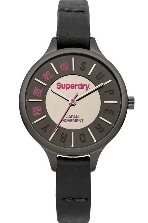 superdry bayan saat siyah