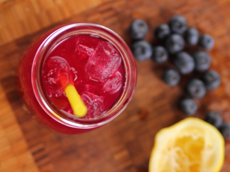 Blueberry Lemonade recipe from Ree Drummond via Food Network - this was very good. At the bottom of the lemonade it wasn't so great. Got really intense and too sweet. Might just need to add in more lemonade at the bottom.