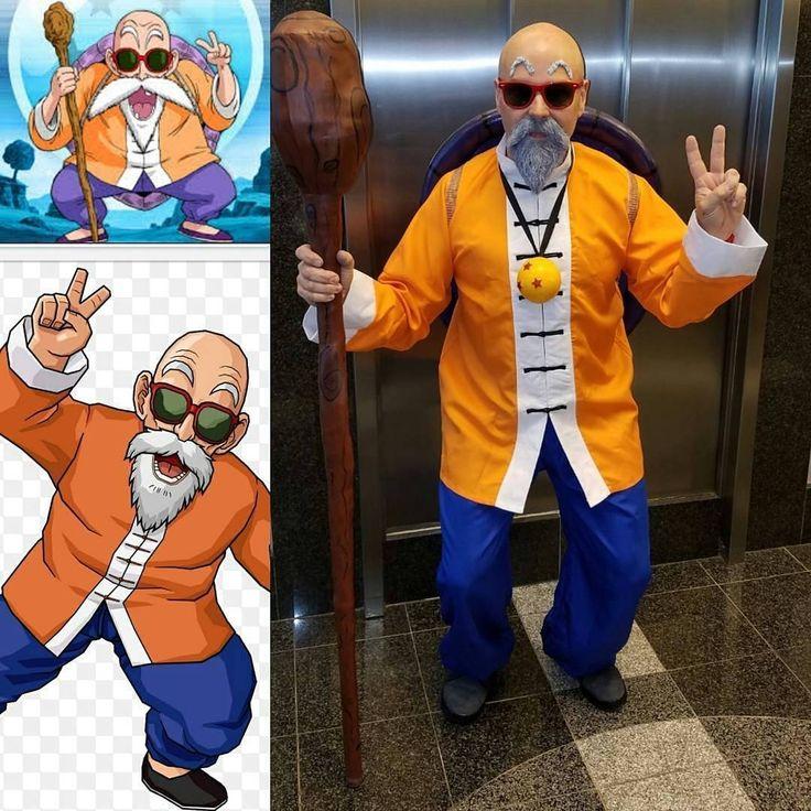 MASTER ROSHI!     Yo pls show some LOVE and follow super awesome @mr_kame__hame__ha       #masterroshicosplay #masterroshi #dbz #dbzcosplay #dragonball #dragonballcosplay #dragonballcosplayer #dragonballz #dragonballzcosplay #dragonballsuper #dragonballsupercosplay #vegeta #goku #bulma #trunks #beard #bald #oldpeoplecosplaying #birmingham #anima #manga #comics #kamehameha #sidebyside #sidebysidecosplay #cosplay #cosplayer #costume #halloweencostume #halloween2017