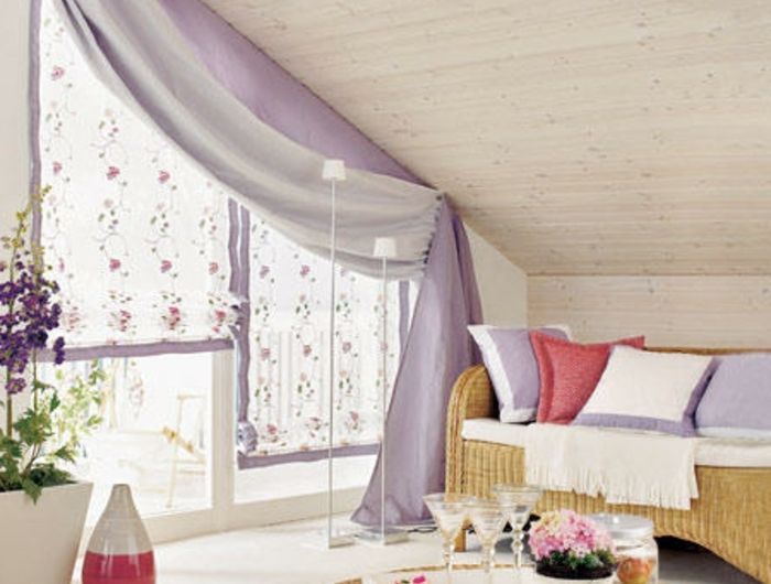 dachfenster gardinen fabulous gardinen deko dachfenster. Black Bedroom Furniture Sets. Home Design Ideas