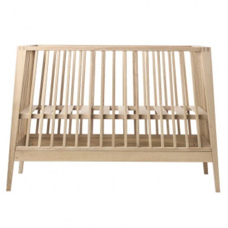 Good LINEA OAK Z/matras Babybed By Leander (Leander)   Linea By Leander®    Meubels   Webshop