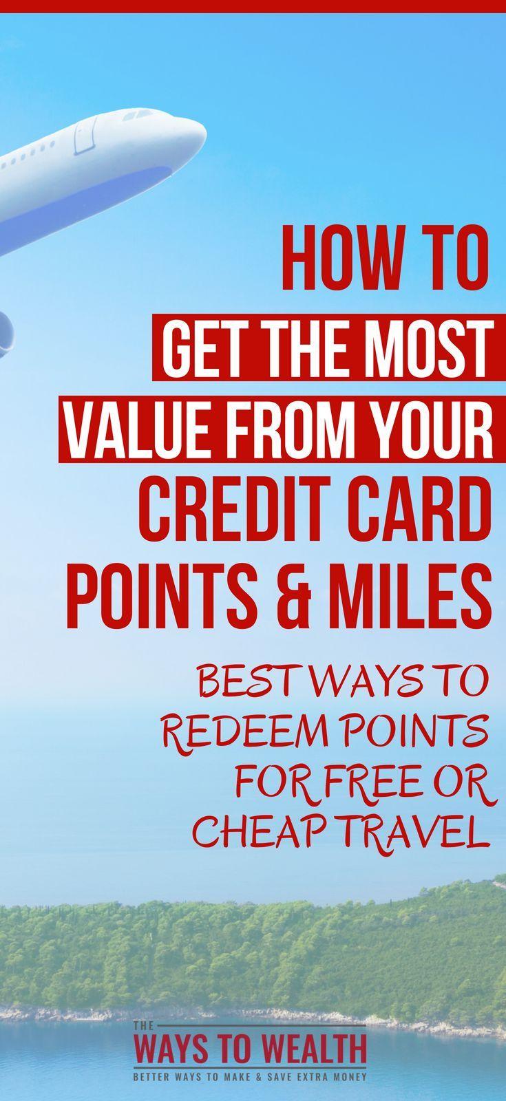 Einlösen von Kreditkartenpunkten für Reisen (Ein Leitfaden für Anfänger). #thewaystowealth # …   – Increase Credit Score Tips
