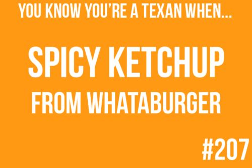 AND there are four kinds!: You Know Your A Texans When, Texans When I, You Know You'R A Texans When, Texas, Texans When Omg, Bring, Fast Food, You Know Your Texans When, Whataburg Spicy