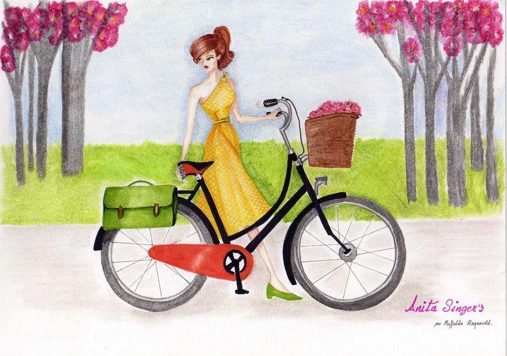 Ilustración Vestido Beatriz. http://www.facebook.com/media/set/?set=a.565657120127983.147181.565541916806170=3#!/pages/Anita-Singers/565541916806170
