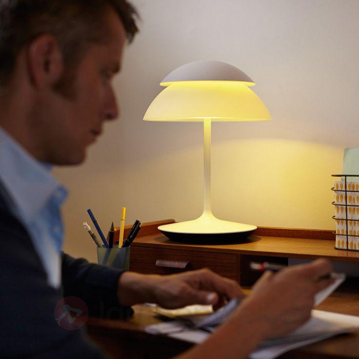 Unique Per Tablet oder Smartphone lassen sich im Smart Home die Lampen steuern WOHNEN u KOCHEN Pinterest Gehorchen Heizung und Ausschalten