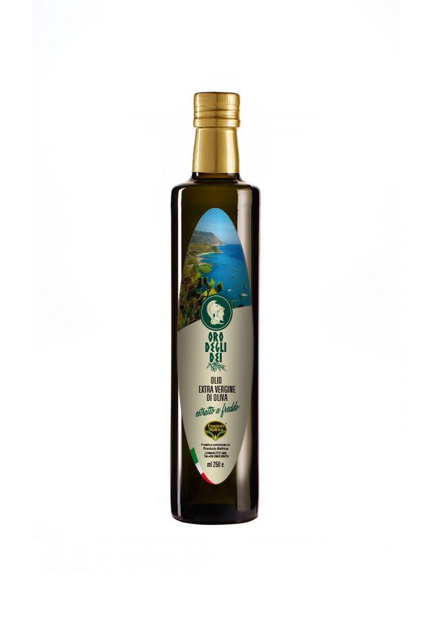 Etichetta olio extra vergine di oliva