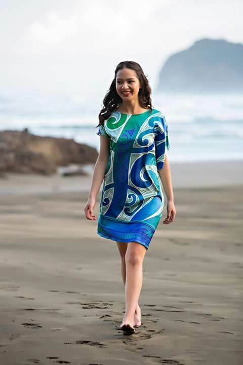 Summer dress patterns in the pacific