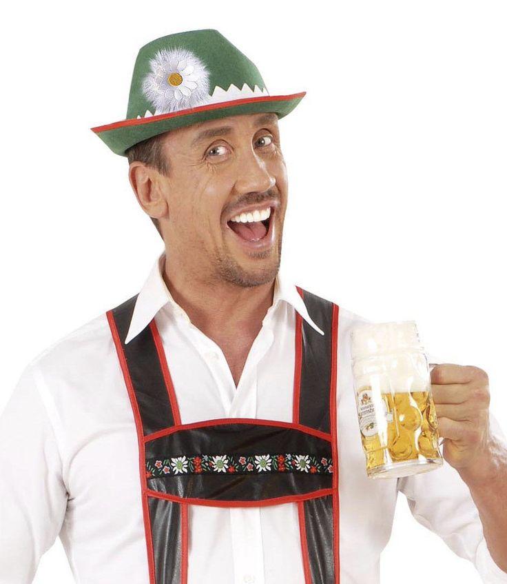 Cappello bavarese uomo/donna con margherita