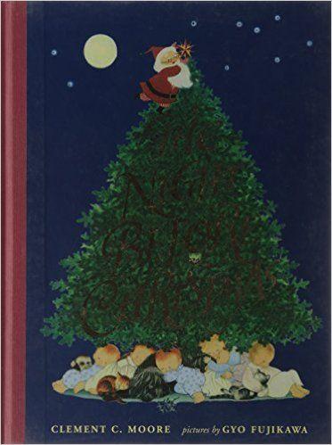 The Night Before Christmas: Clement C. Moore, Gyo Fujikawa: 9781402750656: Amazon.com: Books