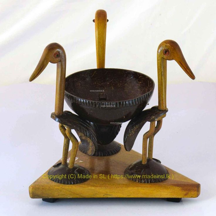 Ornamental Wooden Bowl