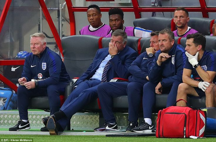 Frustration is etched all over the face of Allardyce as he and his England…
