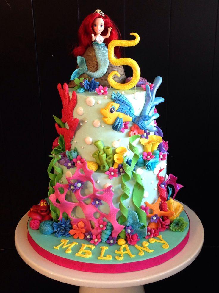 Little Mermaid Cake Baked Goods Unlimited Mermaid