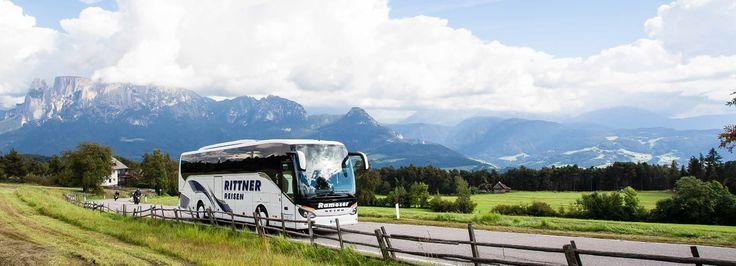Rittner Reisen: Busunternehmen Südtirol, Bozen - www.rittnerreisen.it
