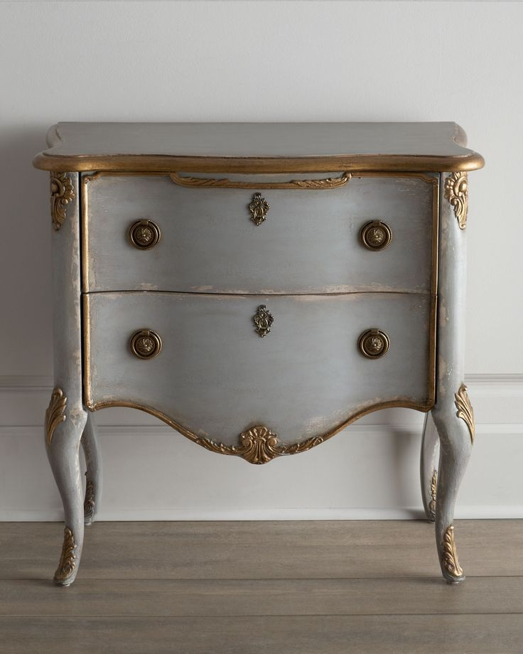 """""""Francois"""" Two-Drawer Chest - Horchow. possible bedside tables"""