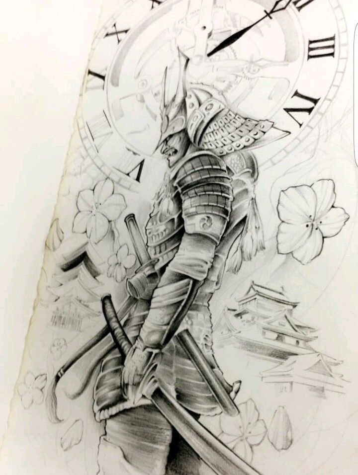 Pin By Daniil Vasiliev On Tattoo With Images Samurai Drawing