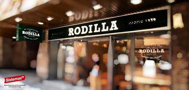 Rodilla Sandwiches en C/ O´Donell. Madrid realizado por Sistemas TM