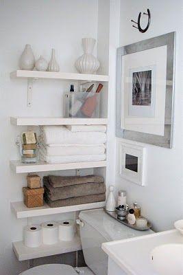 small bathroom solution!