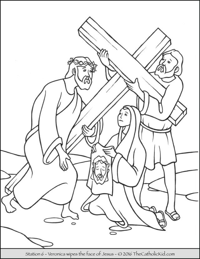 Creative Picture Of Stations Of The Cross Coloring Pages Davemelillo Com Cross Coloring Page Stations Of The Cross Jesus On The Cross