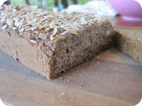 Nøddebrød - et dejligt low carb, LCHF, glutenfrit brød
