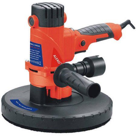 Aleko DS1200 1200-Watt Hand-Held Adjustable Speed ETL Drywall Sander Paint Remover with Vacuum