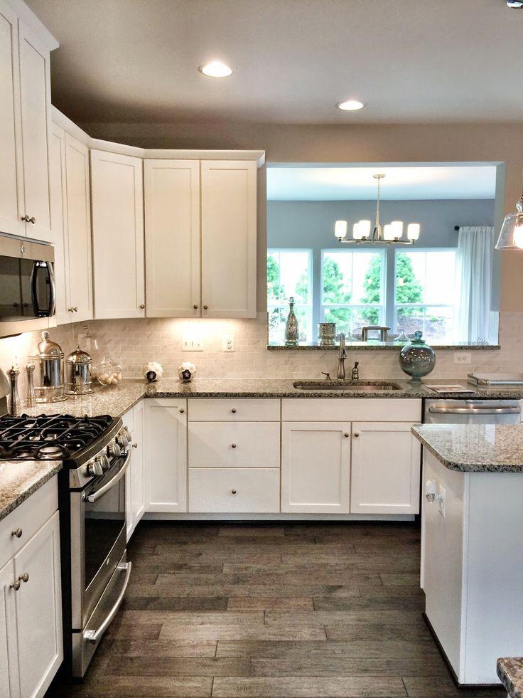 Ryan Homes Build - Fox Chapel model kitchen - our kitchen ...