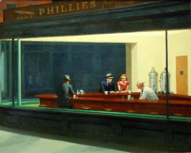 Edward Hopper Nighthawks