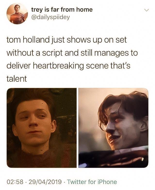 Tom Holland Heartbreaking Scene | Tom Holland Fanclub #Crochet Bag …