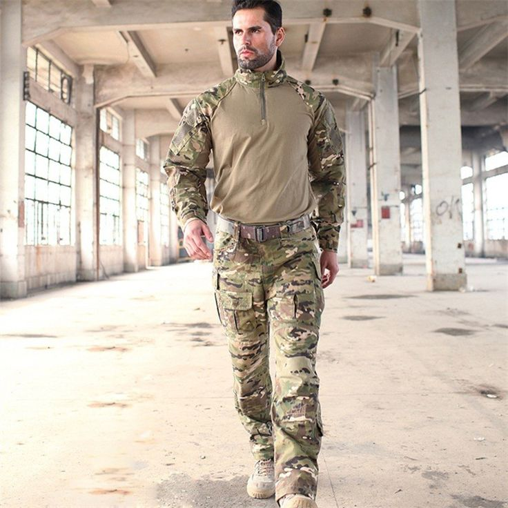==> [Free Shipping] Buy Best New Jacket Man Army Military Tactical Sets Cargo Pants Uniform Waterproof Camouflage Tactical Military Combat Uniform Online with LOWEST Price | 32797359837