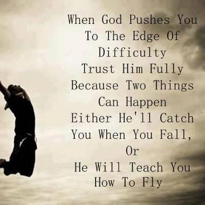 Trust him fully...