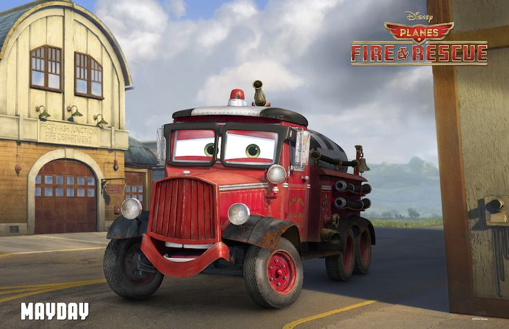 Feisty old Mayday has been Propwash Junction's fire and rescue truck for … ever. He's always rarin' to go, but he's lost a little speed over the years. Propwash Junction is growing fast thanks to resident-turn-big-time-racer Dusty, so Mayday might be in over his headlights.