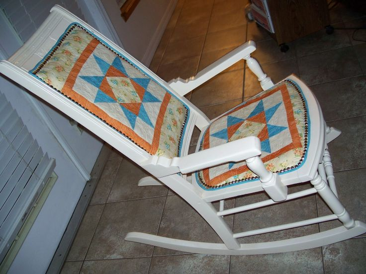 rocking chair I covered