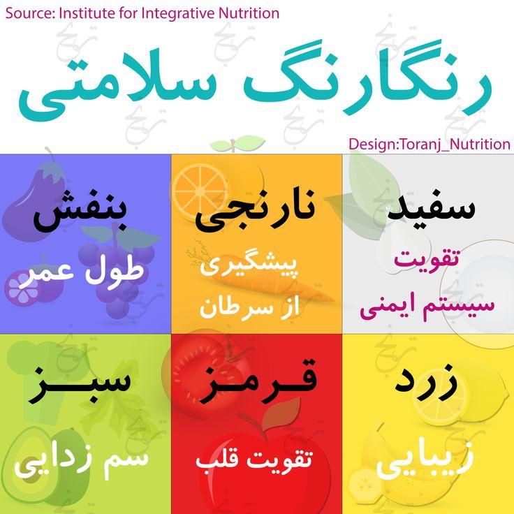 Colorful Fruits and Veggies (Persian)