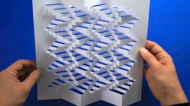 3D Kağıt Sanatı - 3D kağıt dersleri - teknikleri, örnekleri ve ipuçlarını videolu anlatımı