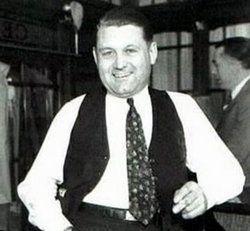 George Bugs Moran(Mobster)1893-1957 Died in prison at Leavenworth