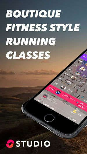 Gamified treadmill workout apps studio offers audio group