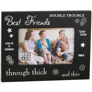 Lovely Best Friend Picture Frame