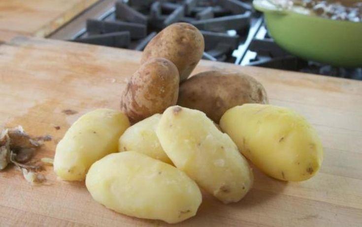 How to Peel Potatoes