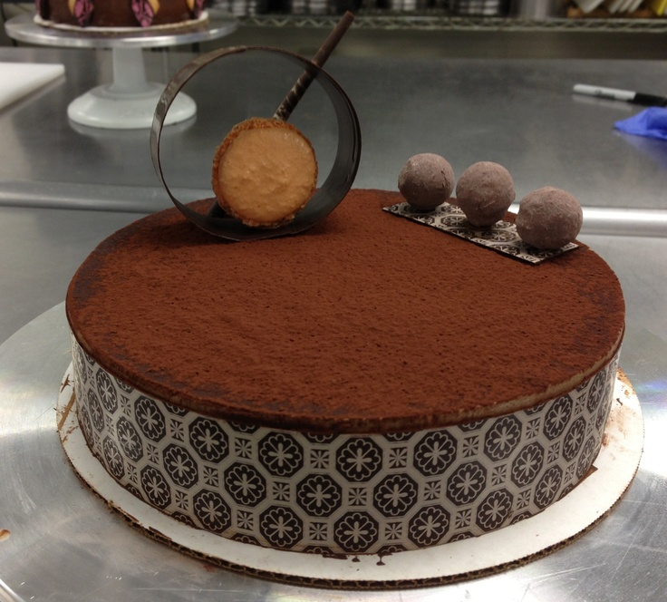 Chocolate Passion Fruit Entremet