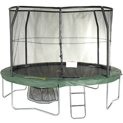 Jumpking JumpPod Classic 14ft Trampoline, massive trampoline with all the accessories
