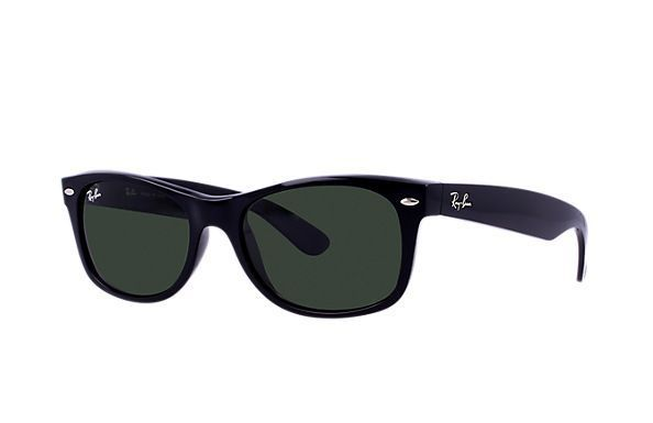Ray-Ban RB2132 901 52-18 New Wayfarer Classic Sunglasses | Ray-Ban USA I love my Ray-Ban Wayfarers! I chose the new style, because it fits me better, but still incorporates the classic design of the original!